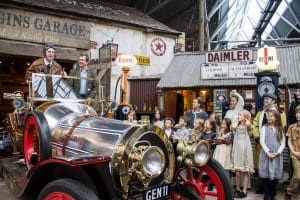 Child Catcher's carriage joins Beaulieu's Chitty exhibition