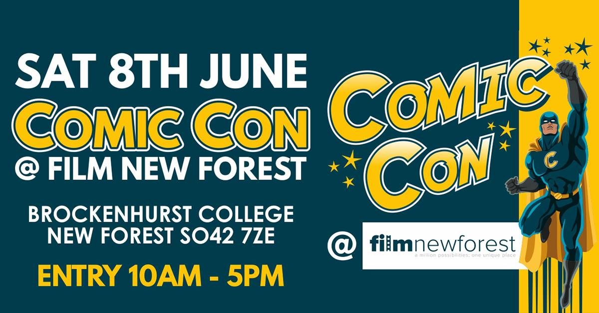 ComicCon at Film:New Forest